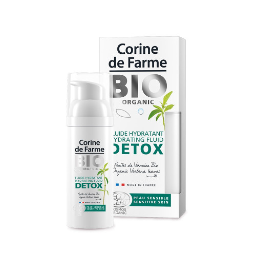 Fluide hydratant DETOX - Certifié BIO