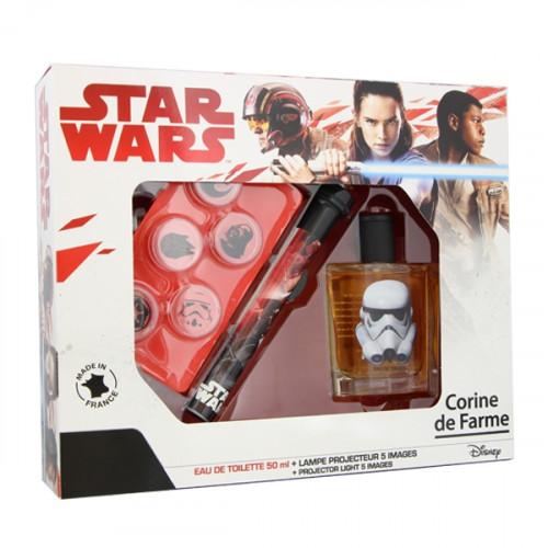 Coffret Star Wars et sa lampe projecteur
