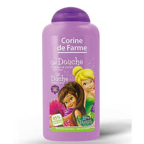 Gel Douche Cheveux et Corps Extra Doux 250ml - Clochette Disney
