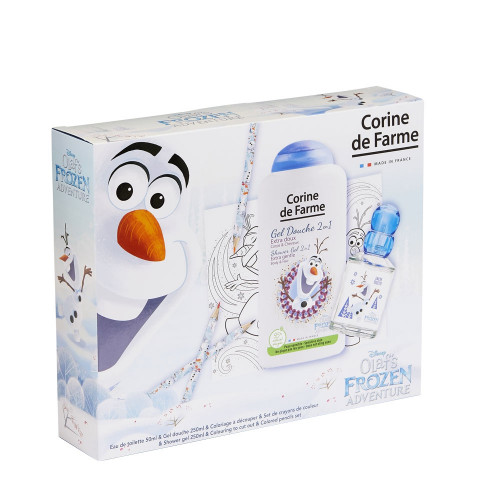 Disney Olaf Frozen Adventure  -Coffret EDT 50ml +Gel douche 250ml +Crayons de couleur